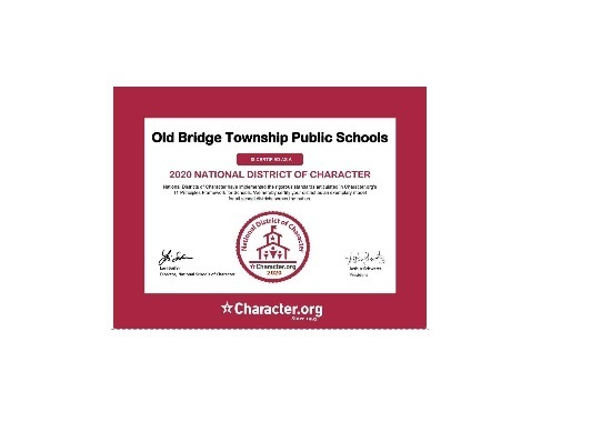 OLD BRIDGE TOWNSHIP PUBLIC SCHOOL DISTRICT EARNS NATIONAL RECOGNITION