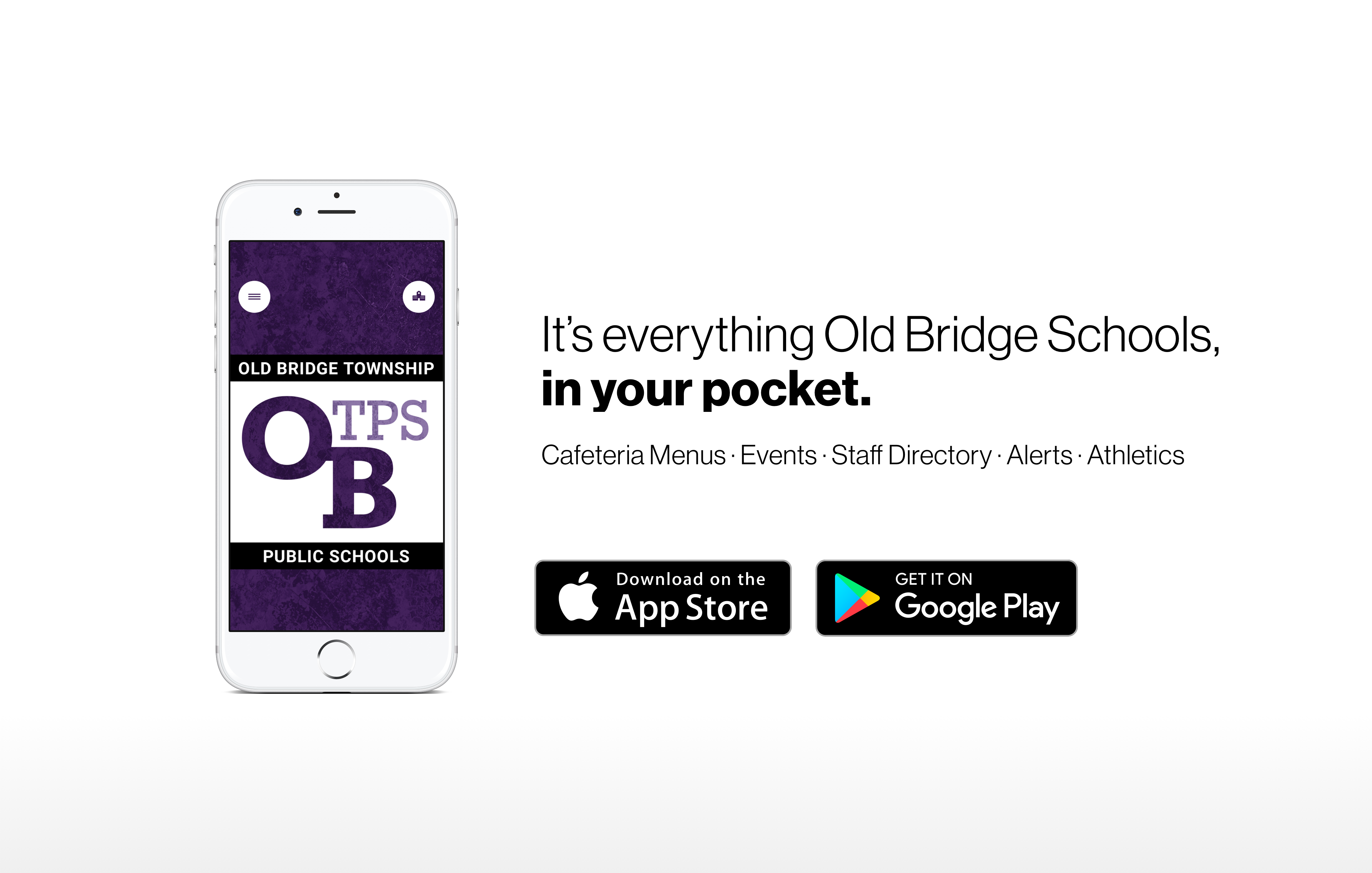 It's everything Old Bridge Schools, in your pocket.
